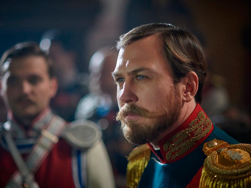 Актер Ларс Айдингер в роли Николая II