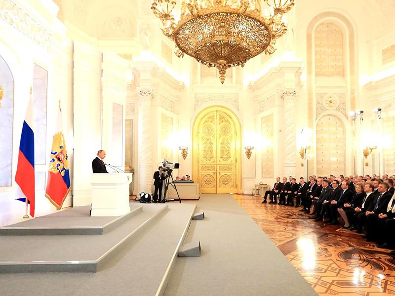 Путин в своем Послании призвал деятелей культуры к сдержанности в спорах