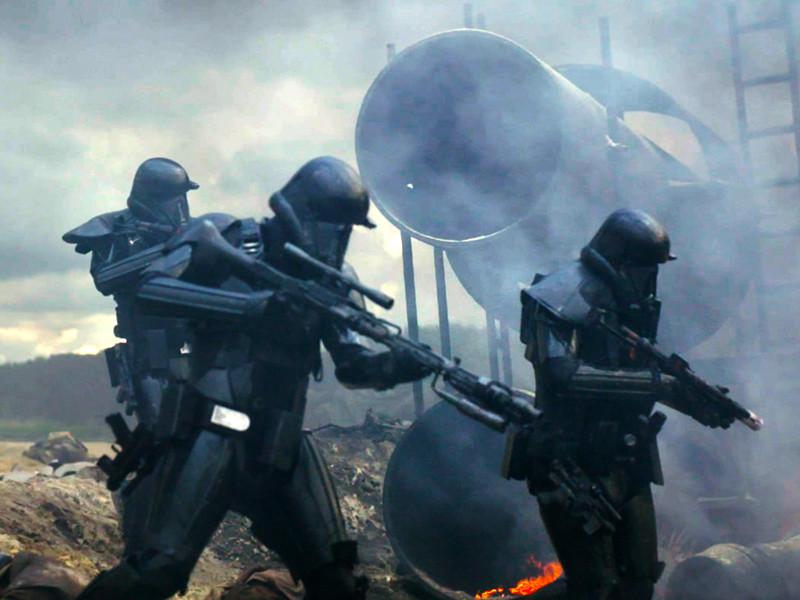 """Первый спин-офф космической саги Джорджа Лукаса """"Звездные войны"""" - """"Изгой-один. Звездные войны: Истории"""" стал лидером проката в России и СНГ"""