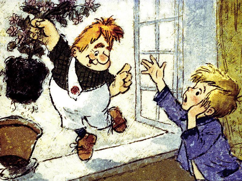"""""""Союзмультфильм"""" хочет снять сериал о """"Малыше и Карлсоне"""" в продолжении знаменитой дилогии и ведет переговоры с наследниками шведской писательницы Астрид Линдгрен по этому поводу"""
