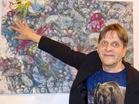 В финской галерее выставили картины, нарисованные медведем