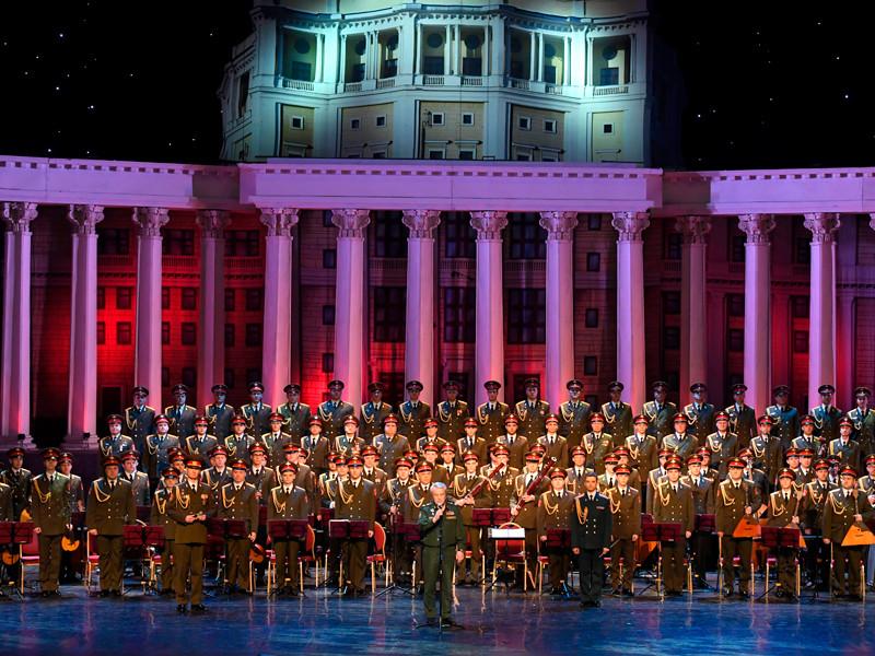 Ансамбль Александрова впервые вышел на сцену в новом составе