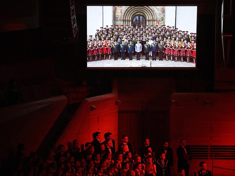 Академический ансамбль песни и пляски Российской армии им. Александрова 23 февраля примет участие в концерте в Кремле, посвященном Дню защитника Отечества