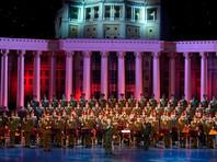 Ансамбль Александрова впервые вышел на сцену в новом составе (ВИДЕО)