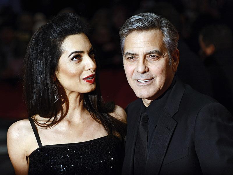 Американский актер Джордж Клуни и его жена, британский адвокат Амаль Клуни, ждут двойню