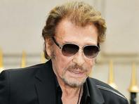 Французский певец Джонни Холлидей лечится от рака