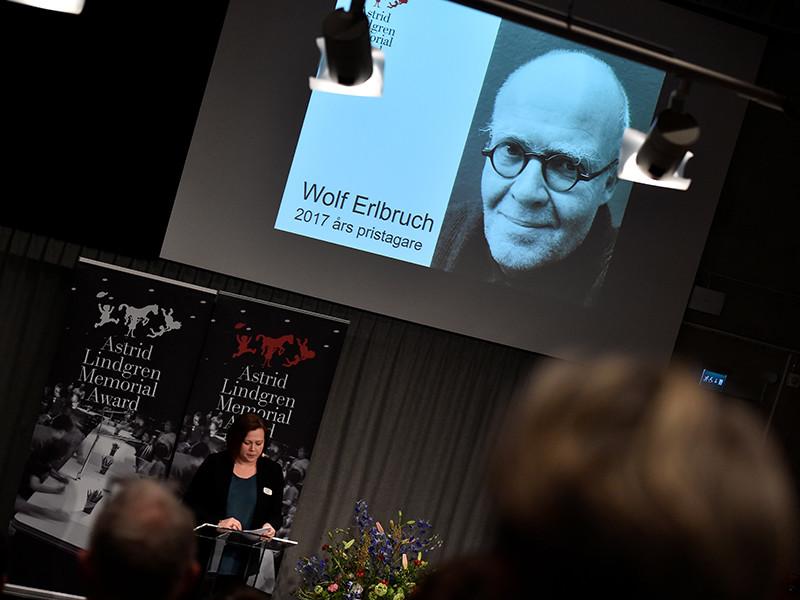Лауреатом премии Астрид Линдгрен 2017 года стал немецкий писатель и иллюстратор Вольф Эльбрух
