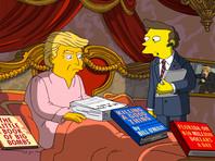 """""""Симпсоны"""" проанализировали 100 дней президентства Дональда Трампа"""