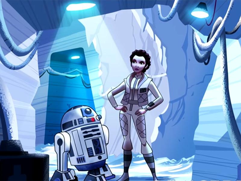 """Disney и Lucasfilm объединяются, чтобы отметить 40-летие культовой франшизы """"Звездные войны"""" запуском анимационного сериала, главными героинями которого станут женщины, которые все это время сражались на стороне добра в одной далекой, далекой галактике"""