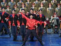 Начинаются длительные гастроли по Европе ансамбля имени Александрова