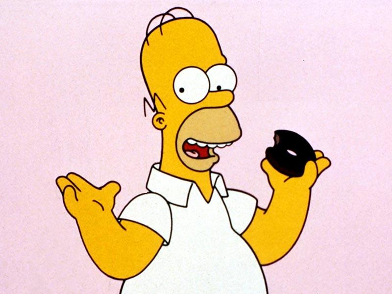 """В воскресенье, 28 мая, в Нью-Йорке состоялась торжественная церемония включения Гомера Симпсона, героя мультсериала """"Симпсоны"""", в Зал бейсбольной славы"""