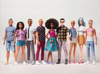 Компания Mattel выпустила новую линейку бойфрендов для Барби, в том числе толстых и с пучком