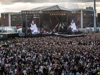 На концерт Арианы Гранде и других звезд в Манчестере пришли 50 тысяч зрителей