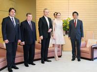 Премьер-министр Японии принял в Токио прима-балерину Большого театра Захарову и скрипача Репина