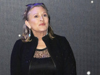 В организме Керри Фишер после ее смерти обнаружено три наркотика - кокаин, экстази и героин