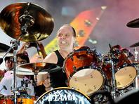 Барабанщика группы Metallica Ларса Ульриха посвятили в рыцари Дании