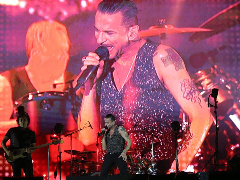 Вокалист Depeche Mode Дэйв Гаан