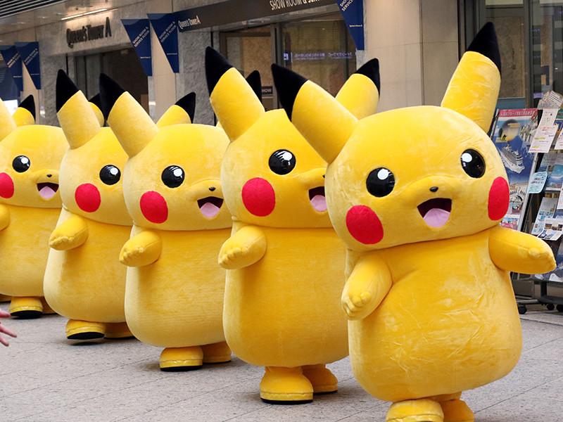 Улицы Йокогамы заполнили 15 000 гигантских Пикачу