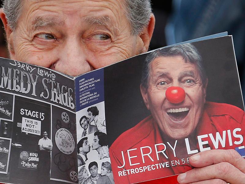 В США в возрасте 91 года скончался знаменитый голливудский актер, режиссер и писатель Джерри Льюис