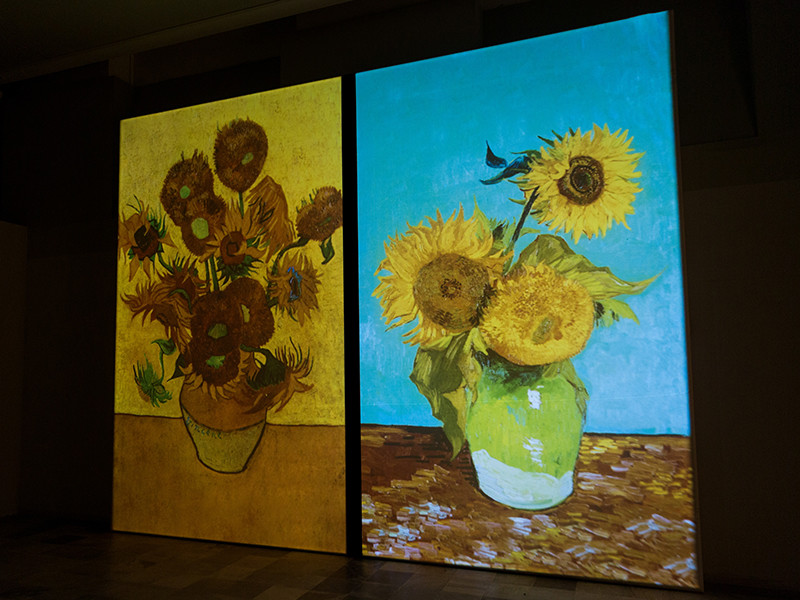"""Пять шедевров Винсента Ван Гога, созданных им в Арле в 1888-1889 годах, впервые собрали для одной экспозиции. Картины из серии """"Подсолнухи"""" были продемонстрированы в ролике Facebook Live"""