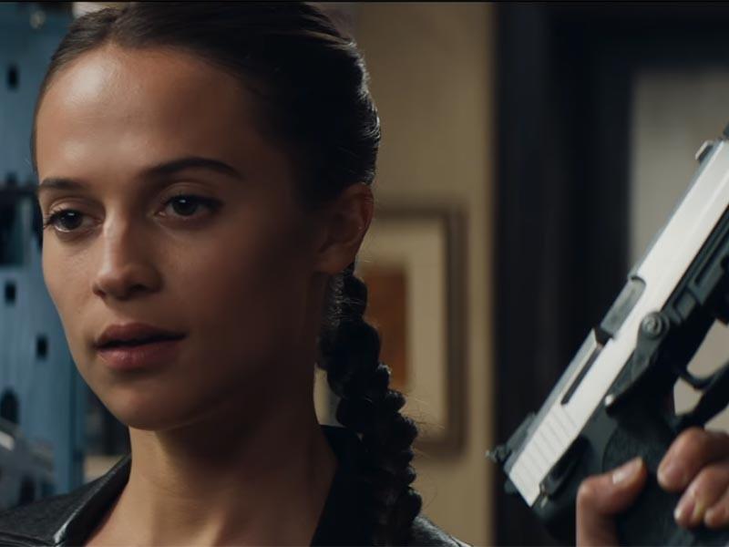 """На канале Warner Bros. Pictures в YouTube опубликован первый трейлер фильма """"Лара Крофт: Расхитительница гробниц"""", в котором главную роль сыграла обладательница """"Оскара"""" Алисия Викандер"""