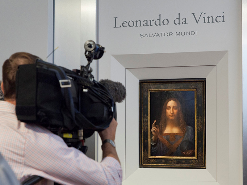 Последнюю картину Леонардо Да Винчи выставили на аукцион с начальной ценой 100 000 000 долларов