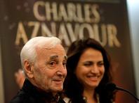 Шарль Азнавур получил награду за спасение евреев во время Холокоста