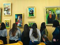 """В московской Мемориальной синагоге открылась выставка """"Еврейский мир в живописи особых детей"""""""