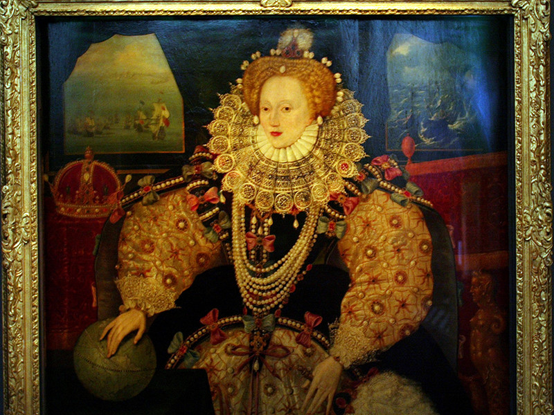 """Знаменитый портрет Елизаветы I """"Непобедимая армада"""" представят лондонской публике после реставрации"""