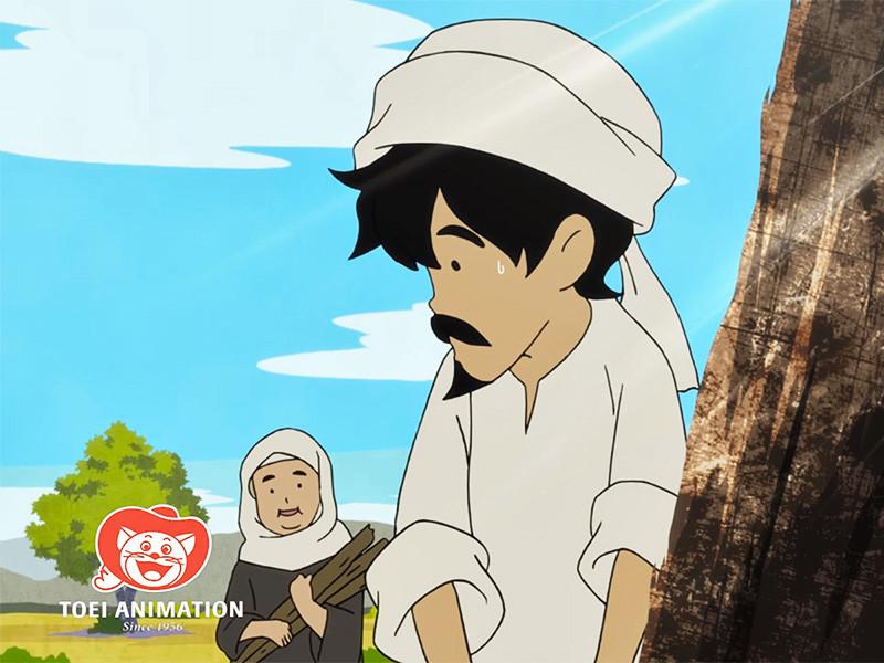 """На днях саудовская компания Manga Production представила тизер первого арабского аниме-сериала под названием """"Сокровище дровосека"""". Для работы над проектом арабские продюсеры привлекли японских аниматоров из студии Toei"""