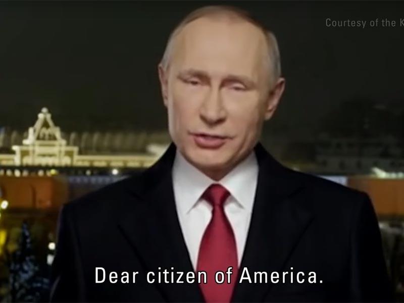 """Путин поздравил дорогих американцев с Новым годом в новом трейлере """"Черного зеркала"""""""