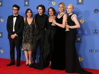 """Две награды были присуждены """"Леди Берд"""" Греты Гервиг. Эта картина была признана """"Лучшим фильмом-комедией или мюзиклом"""""""