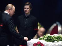 Президент России Владимир Путин посетил церемонию прощания с народным артистом СССР Олегом Табаковым