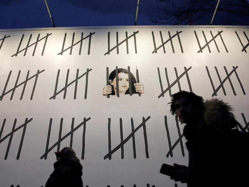 Бэнкси посвятил мурал на Манхэттене курдской художнице, приговоренной в Турции к трем годам тюрьмы за одну картину