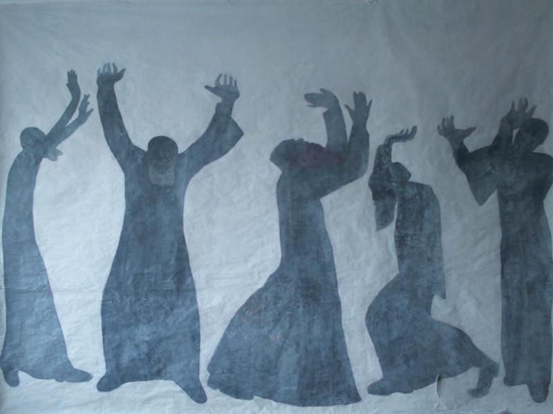 """В Москве отрывается выставка Дюди Сарабьянова """"Сила"""" - с черно-белыми образами афонских монахов"""