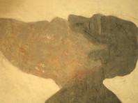На выставке будут представлены образы афонских монахов, написанные черной и белой краской на гигантских листах бумаги