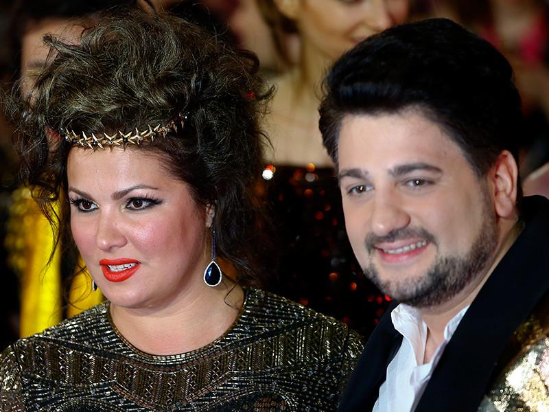 Анна Нетребко с мужем Юсифом Айвазовым
