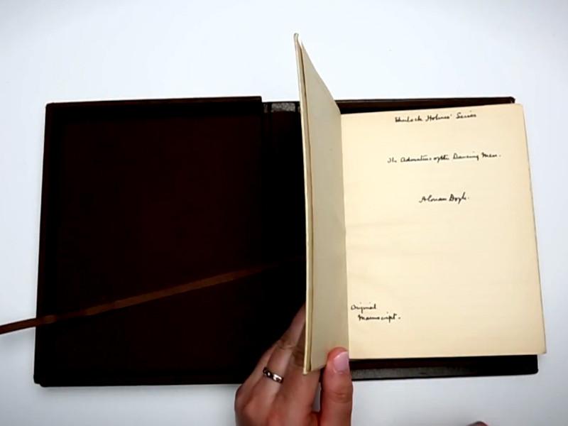 Рукопись Конан Дойля стала самым дорогим лотом аукциона уникальных документов
