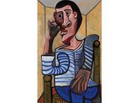 Еще одна картина Пикассо, принадлежащая игорному магнату Уинну, снята с аукциона из-за повреждений. Миллиардер страдает болезнью глаз
