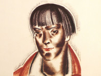 Дом-музей Марины Цветаевой в Москве получит в дар прижизненный портрет поэтессы художника Артемова