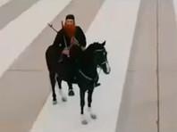 """Для рекламы фильма """"Дамасское время"""" о борьбе с ИГ* """"боевики"""" ворвались в торговый центр в Тегеране (ВИДЕО)"""