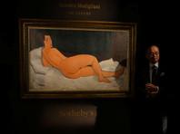 """""""Лежащая обнаженная"""" Модильяни ушла с молотка за 157,2 млн долларов, поставив рекорд на Sotheby's"""