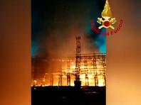 """В Риме произошел крупный пожар на легендарной киностудии """"Чинечитта"""""""