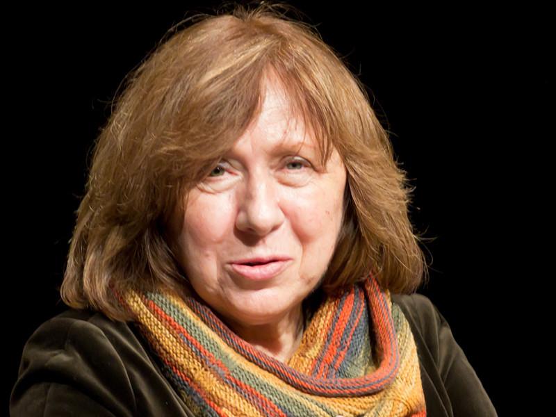 Нобелевский лауреат по литературе Светлана Алексиевич