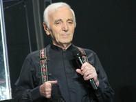 На 95-году жизни скончался французский шансонье  Шарль Азнавур