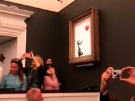 Аукцион Sotheby's и художник Бэнкси попали под подозрение в организации PR-акции, направленной на увеличение стоимости картины