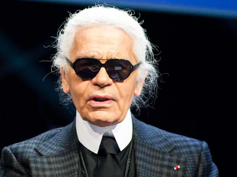 Во Франции скончался знаменитый модельер Карл Лагерфельд