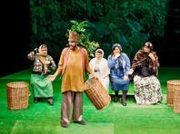 В Москве накануне праздника Пурим впервые выступил единственный в мире горско-еврейский театр