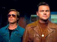 """Леонардо Ди Каприо и Брэд Питт в фильме Квентина Тарантино """"Однажды в Голливуде"""""""
