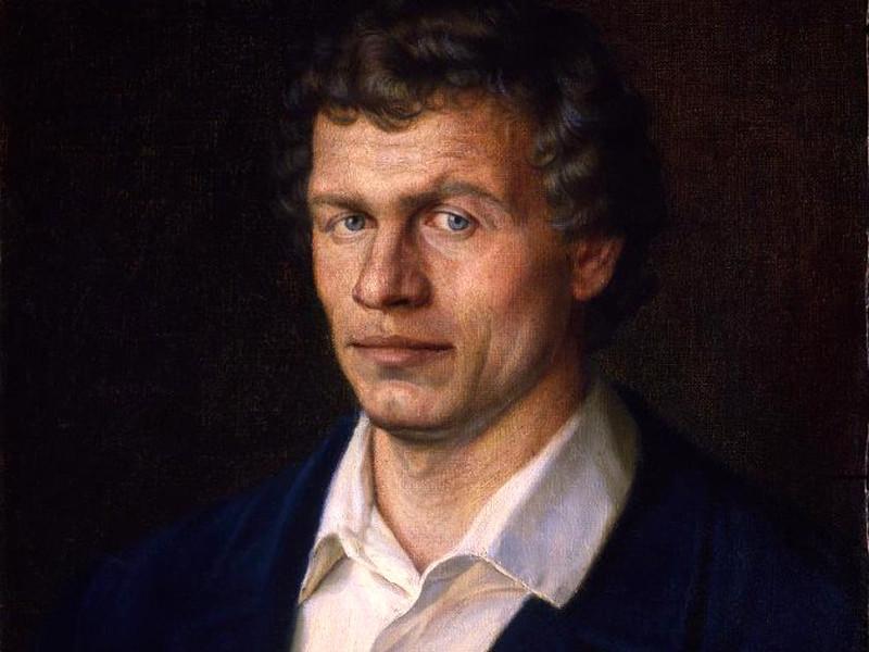 Портрет художника Суздальцева